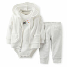 Carters Newborn 3 6 9 12 Months Cardigan Set Baby Boy Girl Clothes Outfit Unisex