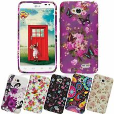 GEL SILICONE COLOURFUL PRINTED CASE COVER FOR LG G2 MINI G3 L70 L90