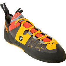 EVOLV Demorto SYNTHETIC Rock CLIMBING SHOES Men sz Lace Up TRAD Sport BOULDERING