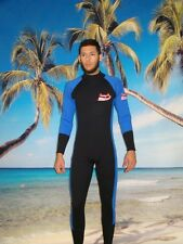 Wetsuit 5 MM size Small to 5X Plus Size Full Rear Zipper Stretch Serie 4803XS