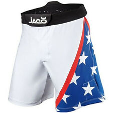 Jaco USA Resurgence MMA Fight Shorts - White