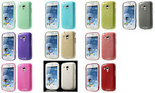 Luxury Brushed TPU Skin Cover Case for Samsung Galaxy Ace II 2 X S7560M