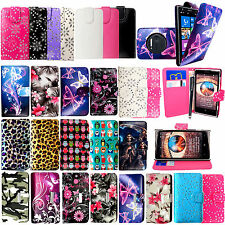 For Nokia Lumia 1020 New Printed PU Leather Wallet Flip Case Cover +Stylus+Guard