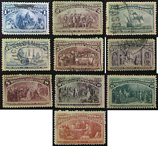 1893 Columbus Stamps 1c to 30c Mint or Used. Choice of stamps. FREE UK POST