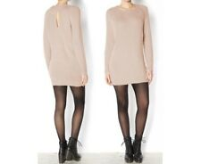 New look oatmeal knitted jumper dress size 8 10 12 14