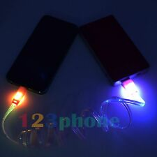 1M LED LIGHT USB DATA SYNC CHARGE CHARGER CHARGING CABLE FOR IPOD TOUCH 5