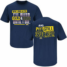 WVU MOUNTAINEERS ULTIMATE FAN SHIRT WIN LOSE or TIE ... and Pitt stil SUCKS