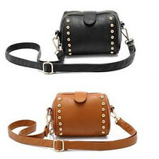 Lady lady cool Leisure Retro rivet pretty camera bag shoulder cross tote bag CA