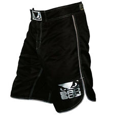 Bad Boy Kid's MMA Shorts - Black/Silver