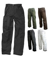 Pulse Men's Insulated Waterproof Winter Cargo Snow Ski Snowboard Pants  SM - 5XL