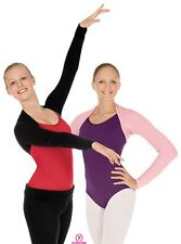 New CROP SHRUG SWEATER Ballet Dance Skating Ballet Pink or Black One size womens