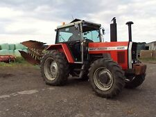 Massey Ferguson 2000 series tractor bonnet stickers / decals (Latest Model)
