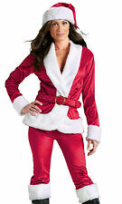 Sexy Womens Mrs Santa Claus Christmas Party Costume