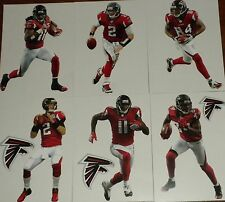 "Atlanta Falcons Player Mini FATHEAD Official NFL Vinyl Wall Graphic 7"" PICK ONE"