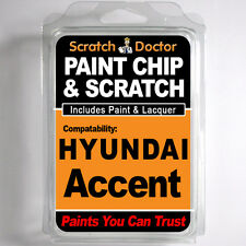 HYUNDAI ACCENT TOUCH UP PAINT Stone Chip Scratch Repair Kit 2006-2010