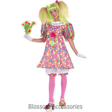 CL78 Tickles The Clown Circus Carnival Birthday Halloween Adult Fancy Costume