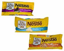 Nestle Toll House Cookie Baking Chips 4 Bags