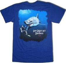 Scuba Dive Shirt Deep Down Last Act - Metro Blue