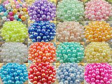 NEW!!10/50/100pcs 12mm AB Chunky Crack Beads Jewelry Pendant Bubblegum Necklace