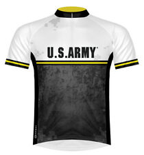 Primal Wear US Army Strength Cycling Jersey Men's Short Sleeve with DeFeet Socks