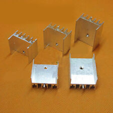 2pcs SR-B235H1 23.5x15.5x18-45mm Aluminum Heat Sink for TO-220 1 Pin Cooling Fin