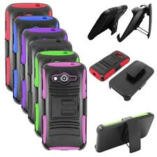 Phone Case For Samsung Galaxy Core LTE Cover with Kickstand + Holster Belt Clip
