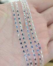 """New Arrival Wholesale 5PCS 925 Sterling Silver 2MM Anchor Chain Necklace 16""""-30"""""""