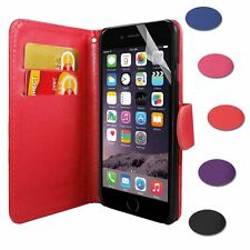"""PU Leather Side Opening Wallet Flip Stand Case Cover For iPhone 6 4.7"""" + Film"""