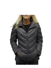 Calvin Klein Women's Packable Lightweight Premium Down Coat NWT Gray