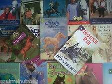 HORSE & PONY BOOKS £2 EACH WIDE SELECTION OF AUTHORS TITLES