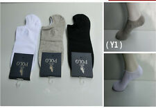 6 Pairs Mens No Show Ankle Casual Sport Cotton Socks Size 9-12 Low Cut Peds