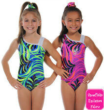 NEW!! Mardi Gras Gymnastics Leotard by Snowflake Designs - Blue or Pink