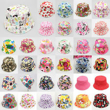 Hot Kids Girl Baby Summer Outdoor Bucket Hat Fedora Cap Sun Beach Bonnet Beanie
