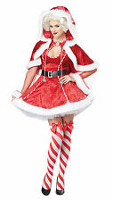 Adult Sexy Mrs Santa Claus Costume Christmas
