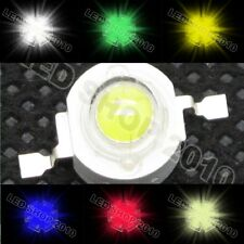 1W Without board White Red Yellow Green Blue Warm LED Beads star Light Lamp