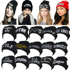 50style Fashion Women's Men's Hat Unisex Warm Winter Knit Cap Hip-hop Beanie Hat