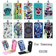 1pc Flip Magnetic PU Leather Vertical Case For Samsung Galaxy Ace NXT SM-G313H