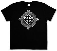 CELTIC KNOT LOGO SIGN XII T-SHIRT - Kelten Knoten keltisch Kreuz Cross Iron Odin