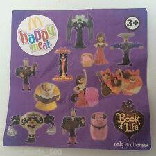 McDonald's 2014 The Book of Life Happy Meal - BNIP -  All Toys Available
