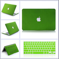 """Green Quicksand Hard Case Keyboard Cover For MacBook Air/ PRO 11"""" 13"""" 15"""" Retina"""