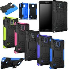 Hybrid Armor KickStand Hard Combo Case Cover For samsung galaxy Note 4 N9100