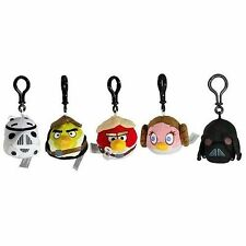 Star Wars Angry Birds Keyrings Backpack Clips CHOOSE CHARACTER stocking filler