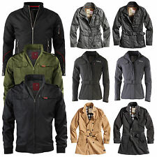 Surplus Raw Vintage Military Function Outdoor Jacket / Trench Coat Men's /