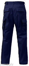 cargo pants military bdu style navy blue various sizes and lengths rothco 7885
