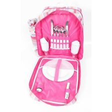 Malibu Insulated Luxury Picnic Backpack Hamper 2 Person with Accessories
