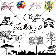 For Apple MacBook Pro Air New Silhouette Vinyl Sticker Skin Decal Cover Hot Sale