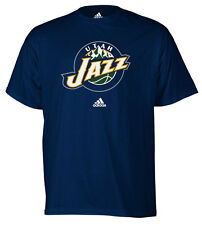 UTAH JAZZ  MEN'S BLACK PRIMARY LOGO TEE SHIRT