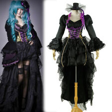 Vocaloid Hatsune Miku Cosplay costume Dress S-XL Customized Size Black Color