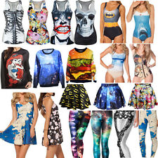 Fashion Summer Various Sexy Women's Ladies 3D Digital Graphic Printed Clothing