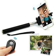 Extendable Handheld Selfie Stick Monopod + Remote Bluetooth Shutter For Phone TS